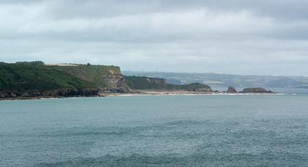 Rocky headland at the coast