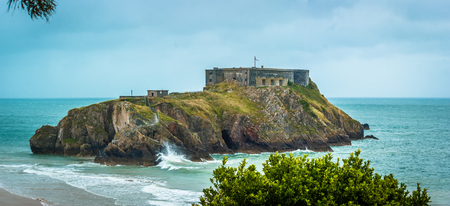 St Catherines Island and Fort, Tenby, South Wales
