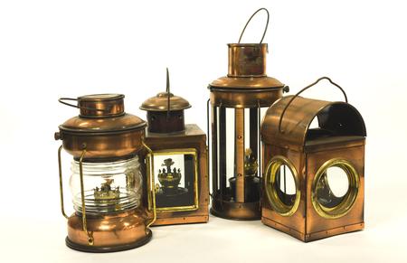 kerosene: vintage style kerosene lamp lantern