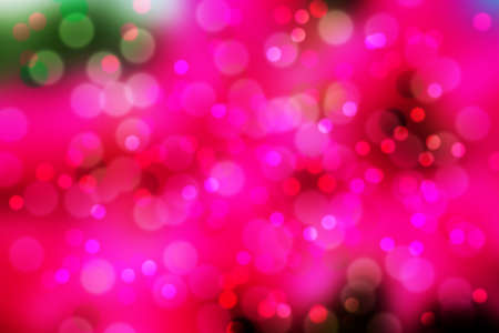 pink and red bokeh Stock Photo