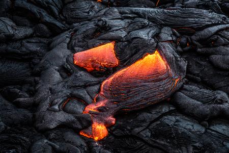 Hot Lava on Hawaiis Big Island