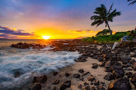 Gorgeous sunset in Maui