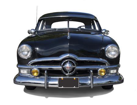 1950 Sedan Front View 新聞圖片