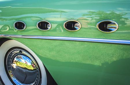 fender: 1950s Buick Roadmaster Fender