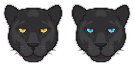 Black Panther-Gesicht Standard-Bild - 29385979
