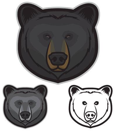 Black Bear Face