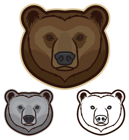 kodiak: Brown Bear Face