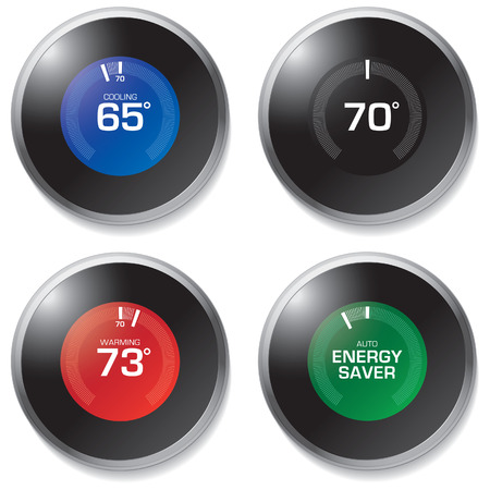 Thermostat Vectores