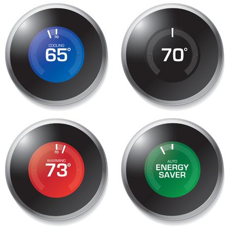 resourceful: Thermostat Illustration
