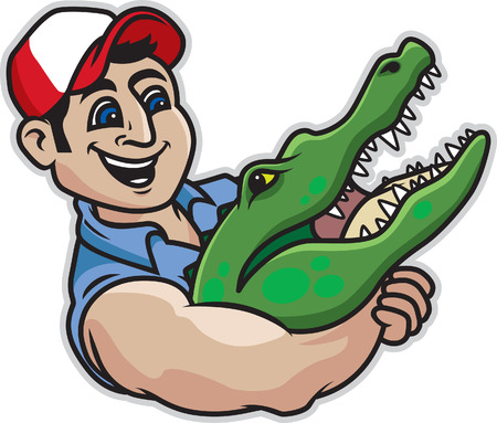 choking: Alligator Wrestling