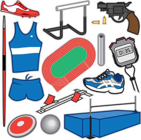 track and field: Track and Field Items