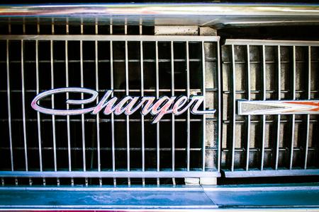 Dodge Charger Emblem Editorial