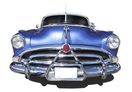 old fashioned car: Hudson Hornet