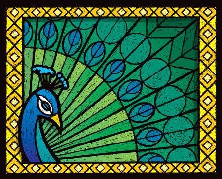 Peacock 版權商用圖片 - 30985101