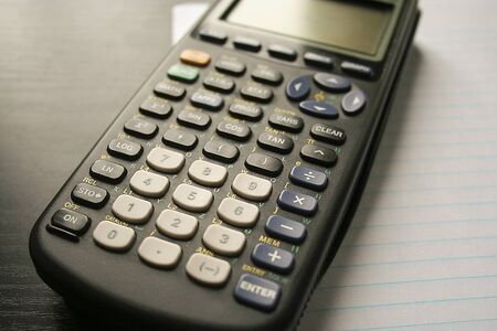 Graphing calculator.