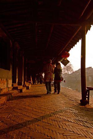 canopy: Xitang corridor canopy