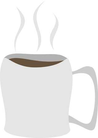 png: A Mug of Hot Coffee