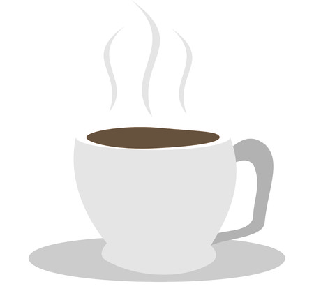 png: A Cup of Hot Coffee