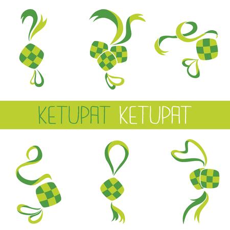 Ketupat001 Illustration