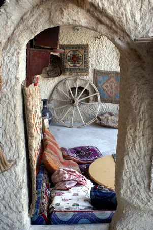 Old turkish house, Cappadocia photo