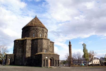 minaret: Armenian church and minaret