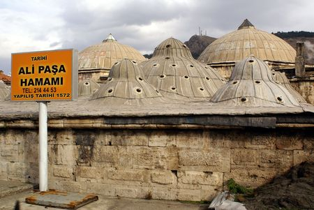 turkish bath: Turkish bath in Tokat