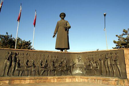 Ataturk in Erzurum photo