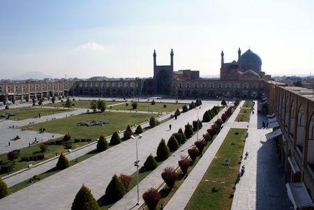 imam: Imam square in Esfahan, Iran