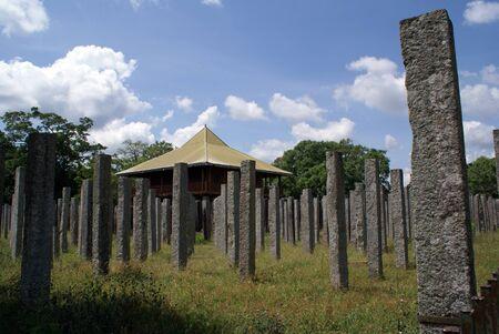 anuradhapura: Old ruined palace, Anuradhapura, Sri Lanka                Stock Photo