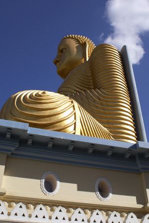 Golden Buddha, Dambulla, Sri Lanka                    photo