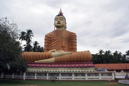 wewurukannala: Buddha in Wewurukannala Vihara, near Dikwella, Sri Lanka