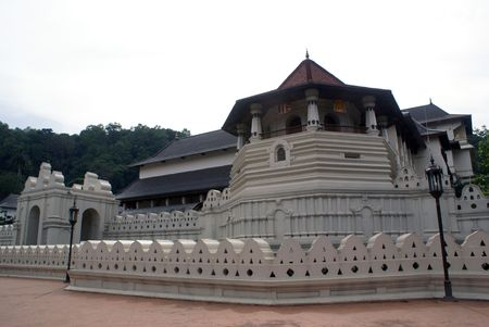 Temple of Tooth, Kandy, Sri Lanka                    Stock Photo - 1809944