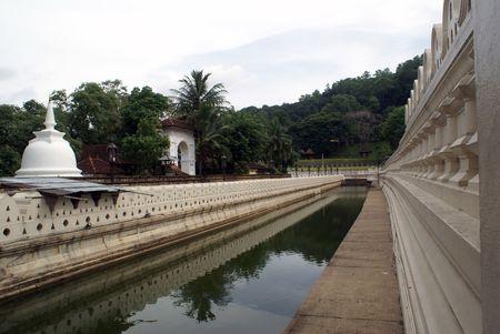 Famous buddhist temple in Kandy, Sri Lanka Stock Photo - 1809948
