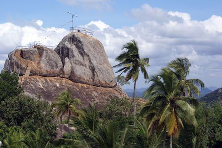 View point in Mihintale, Sri Lanka                 Stock Photo - 1842749