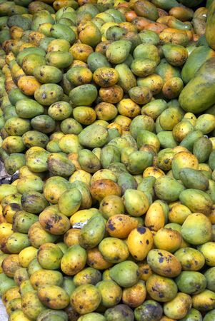 Mango on the fruit stall in Sri Lanka                  Stock Photo - 1842727