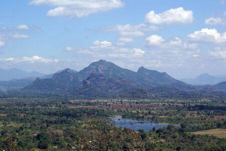 Vue sur la montagne au Sri Lanka Banque d'images - 1860996