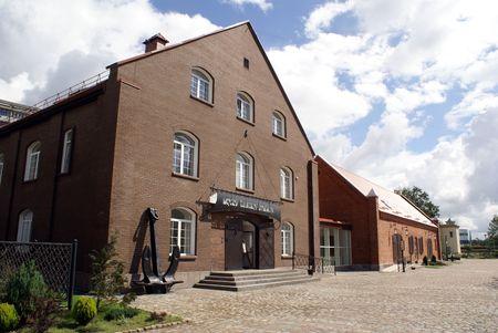 Old brick building in Kenigsberg, Prussia, Kaliningrad, Russia                     photo