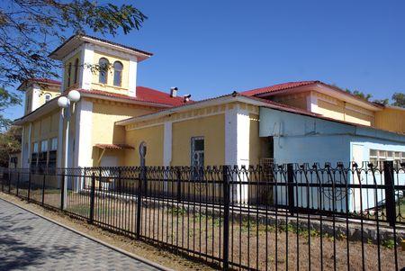 House in Anapa, Russian Black sea coast, south Russia           photo