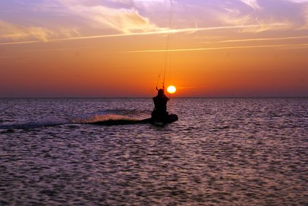 azov sea: Near Dolshanka on Azov sea, south Russia