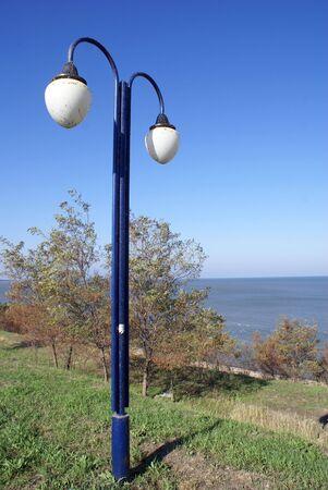 azov sea: On the Azov sea coast in Eysk, south part of Russia                   Stock Photo