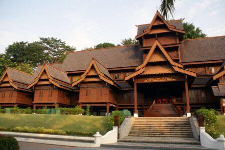 Royal palace in Melaka, Malaysia