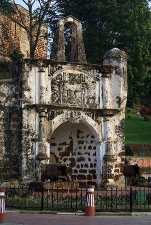 Old fort in Melaka, Malaysia                photo
