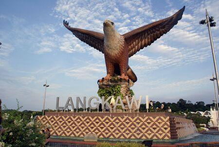 Very big eagle in Langkawi, Malaysia