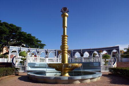 fountainhead: Fountain near palace in Kuala Terenganu