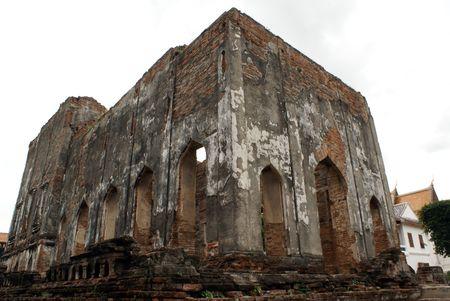 Ruin in Phra Narai Rachanivej io Lopburi, central Thailand               photo