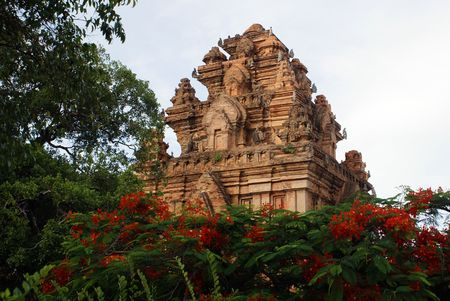 po: Po Nagar Cham Tower in Nha Trang, Vietnam