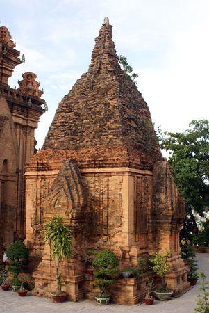 Po Nagar Cham tower in Nha Trang, Vietnam                    photo