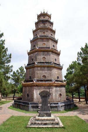 hue: Pagoda Thien Mu in Hue, centrtal Vietnam