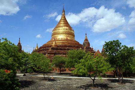 dhamma: Dhamma Yazika pagoda in Bagan, Myanmar