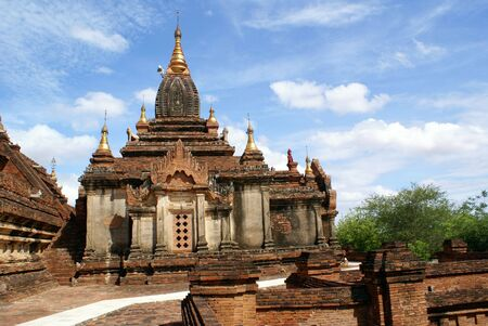 dhamma: Stupa vicino Dhamma Yazika pagoda in Bagan, Myanmar